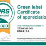galardon-PRS green label