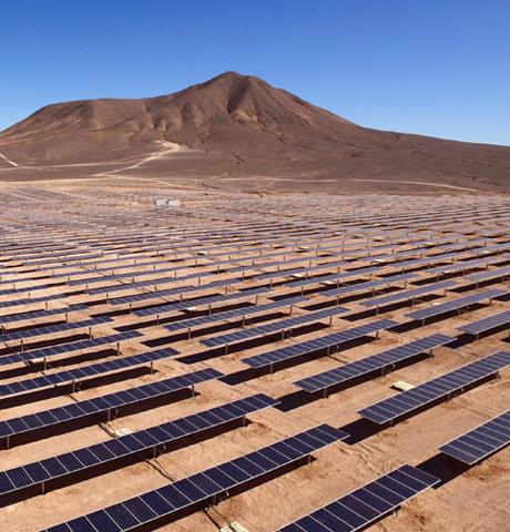 Huerta solar - Energías Renovables
